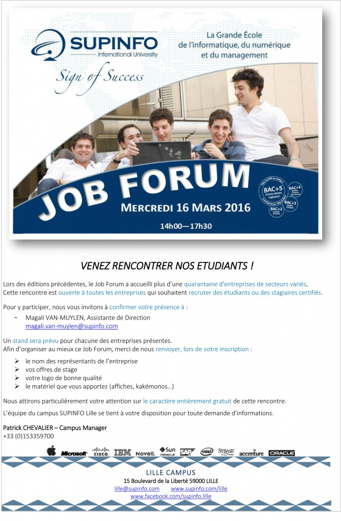 Forum rencontre lille
