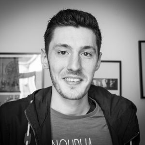 Cyryl-Laurent, étudiant en infographie au Pôle Numérique Numérique 3 Axes